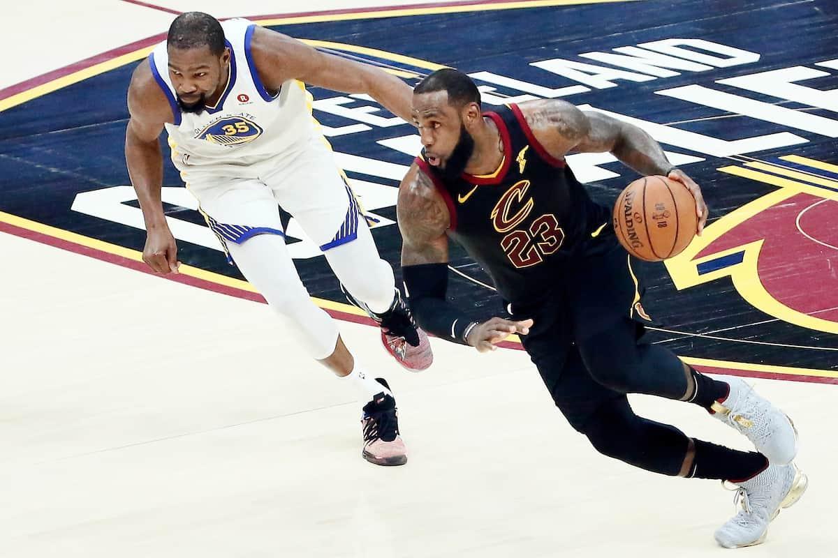 Kevin Durant moins bien noté que LeBron sur NBA 2K19