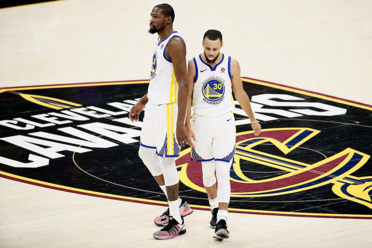 Kevin Durant était jaloux de Stephen Curry aux Warriors