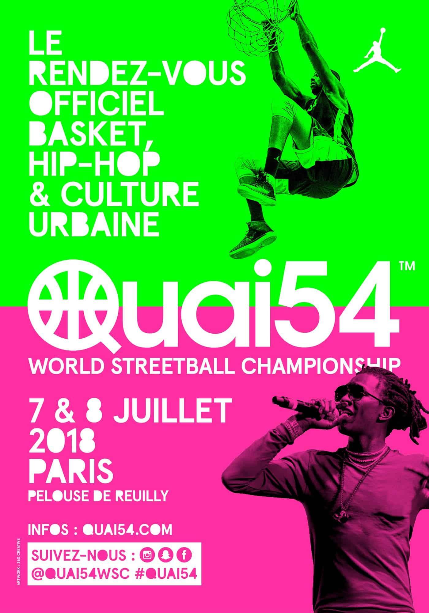 Le Quai 54 revient à Paris les 7 et 8 juillet prochain !