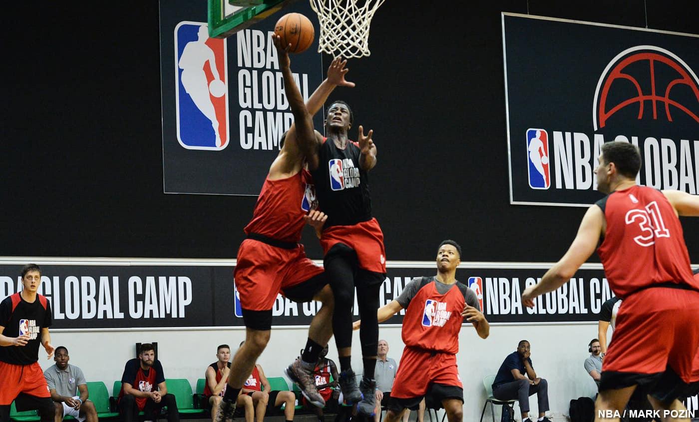 8 Français présents au NBA Global Camp 2018