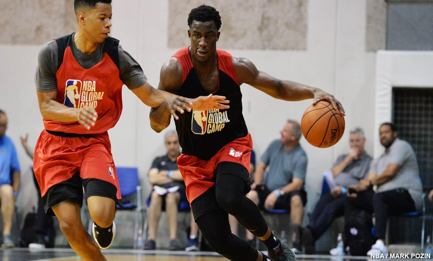 Le Français Adam Mokoka décroche un contrat avec les Bulls