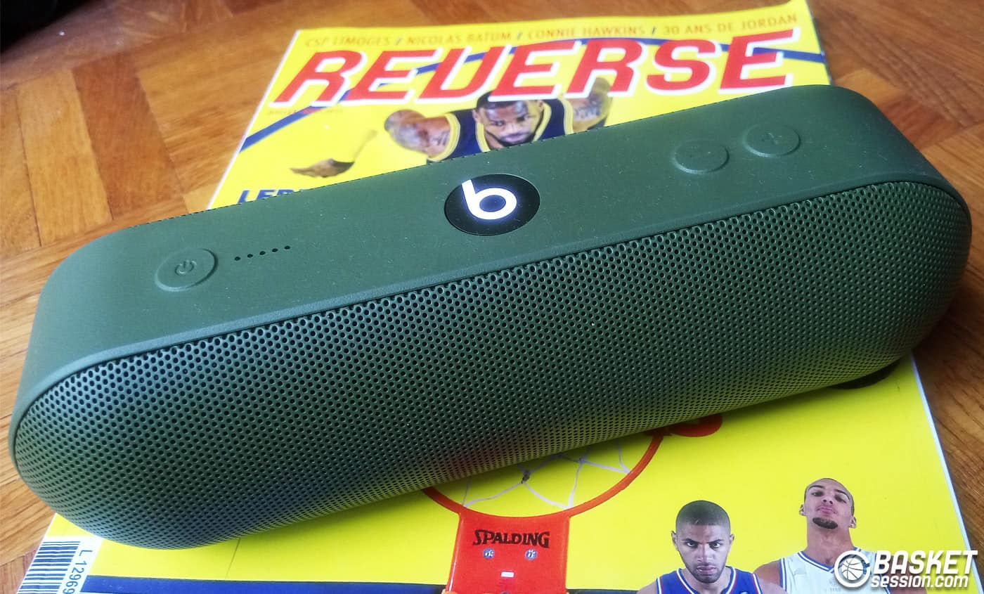 [Test] L'enceinte Beats Pill+ de Beats By Dre