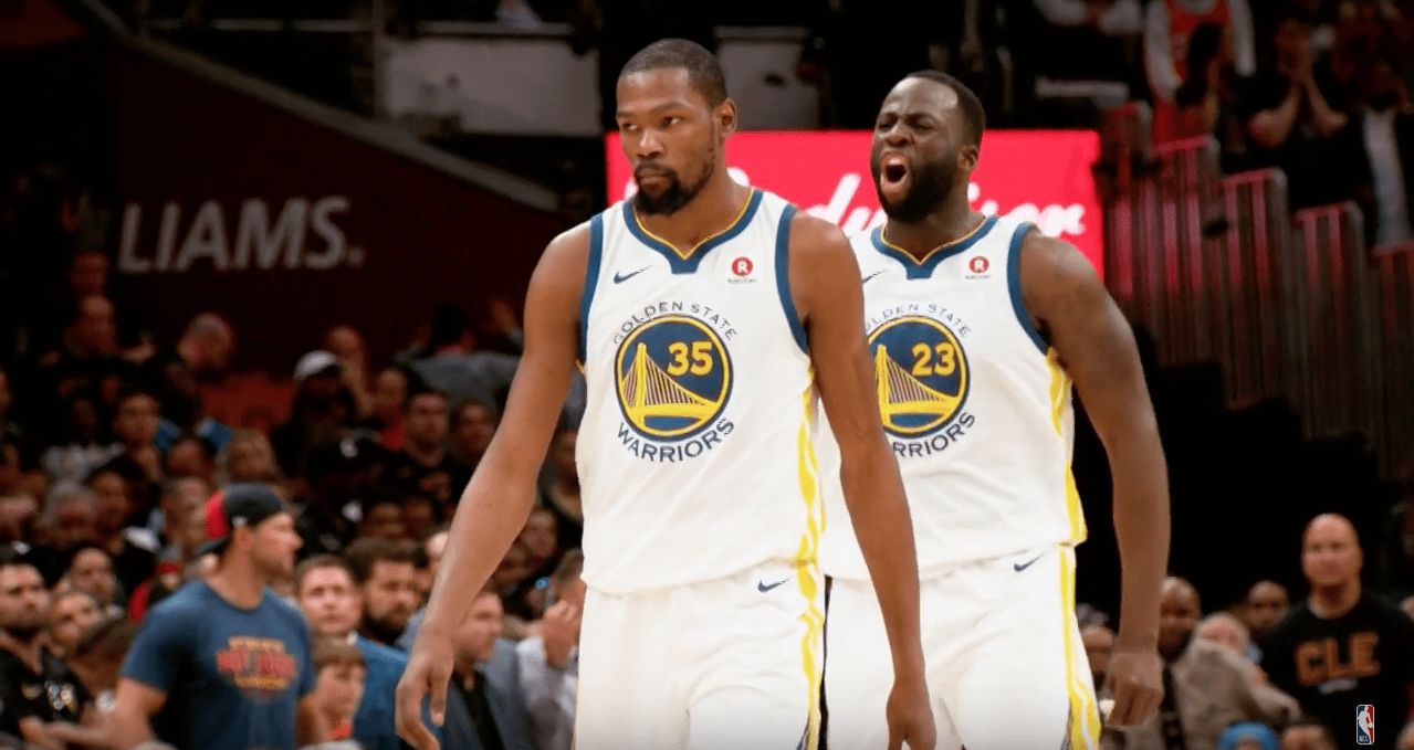 Kevin Durant ne parlait plus aux Warriors pendant la saison…