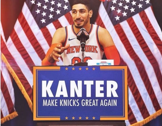 Enes Kanter annonce son retour à New York