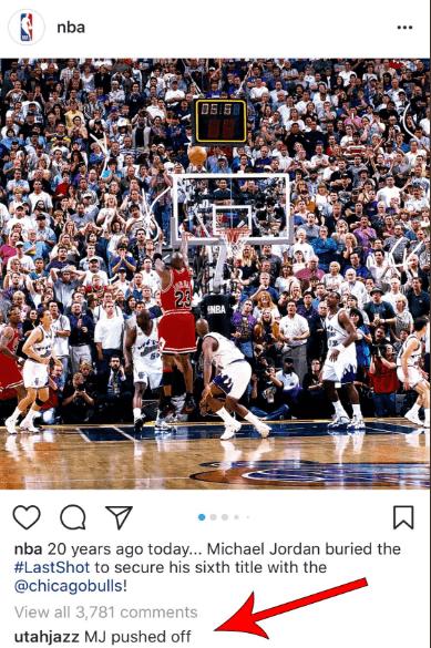 Pour le Jazz, il y avait faute de MJ sur «The Last Shot»