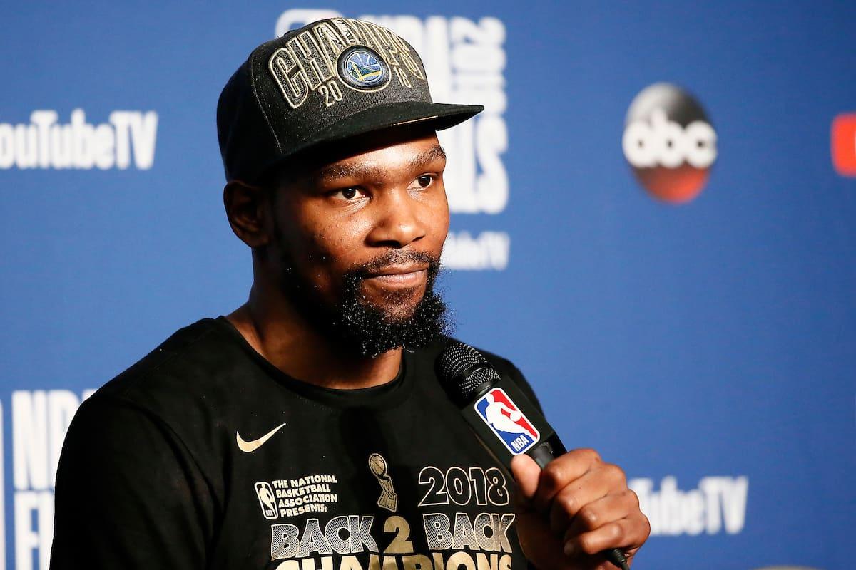 Kevin Durant prolonge aux Warriors pour 61,5 millions sur deux ans
