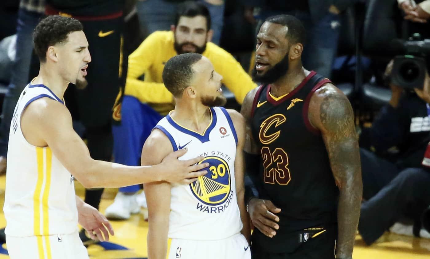Curry : «J'ai dit à LeBron, on en est vraiment là ?»