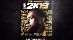 NBA 2K19 s'offre LeBron James, 2 Chainz, Rapsody et Jerreau