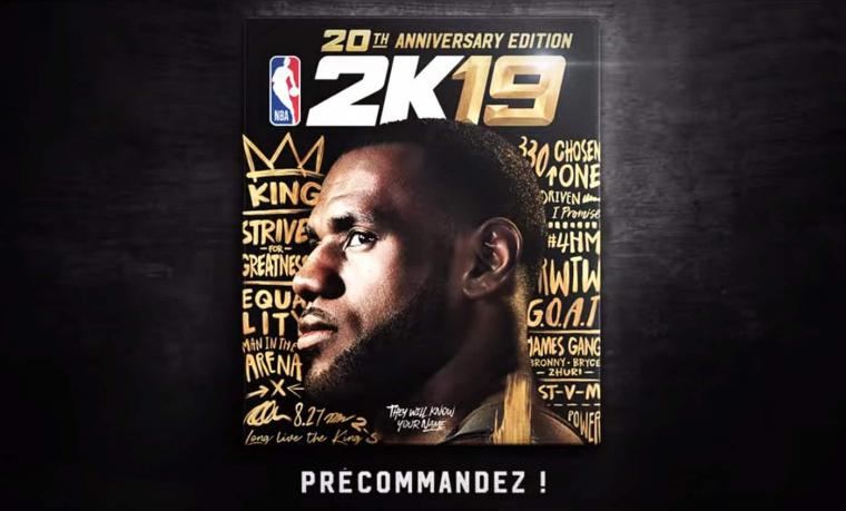 NBA 2K19 : du choix dans les shot meters ?