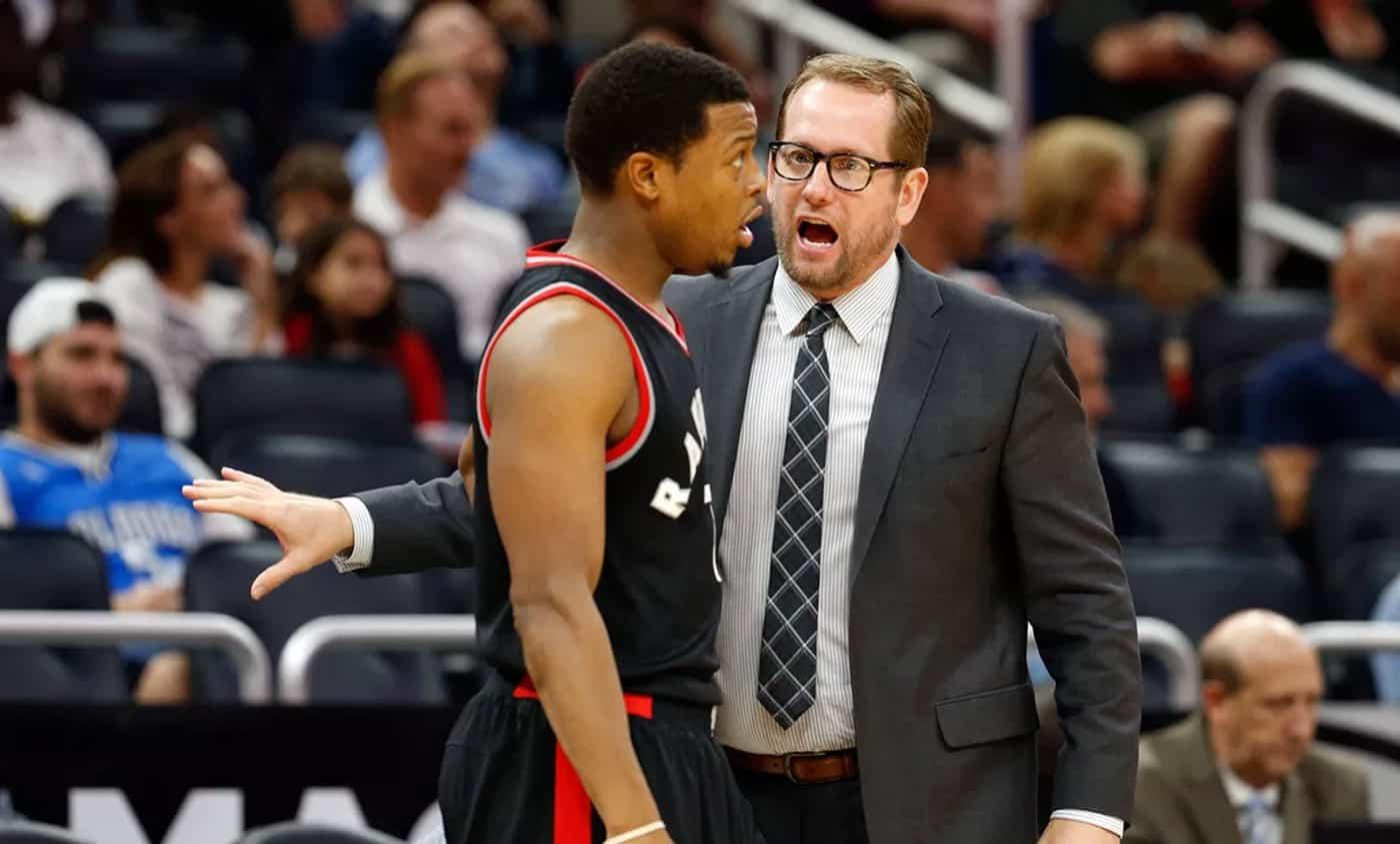 Nick Nurse est le nouveau coach des Raptors