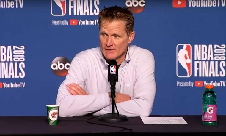 Steve Kerr sur la première fois qu'il a vu Curry jouer : «C'était magique»