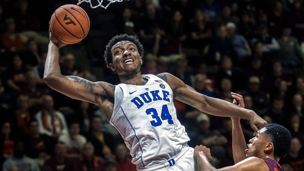 Coach K taclé par les parents de Wendell Carter