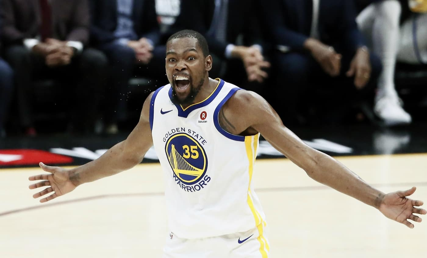 Les Raptors survivent aux 51 points de Kevin Durant