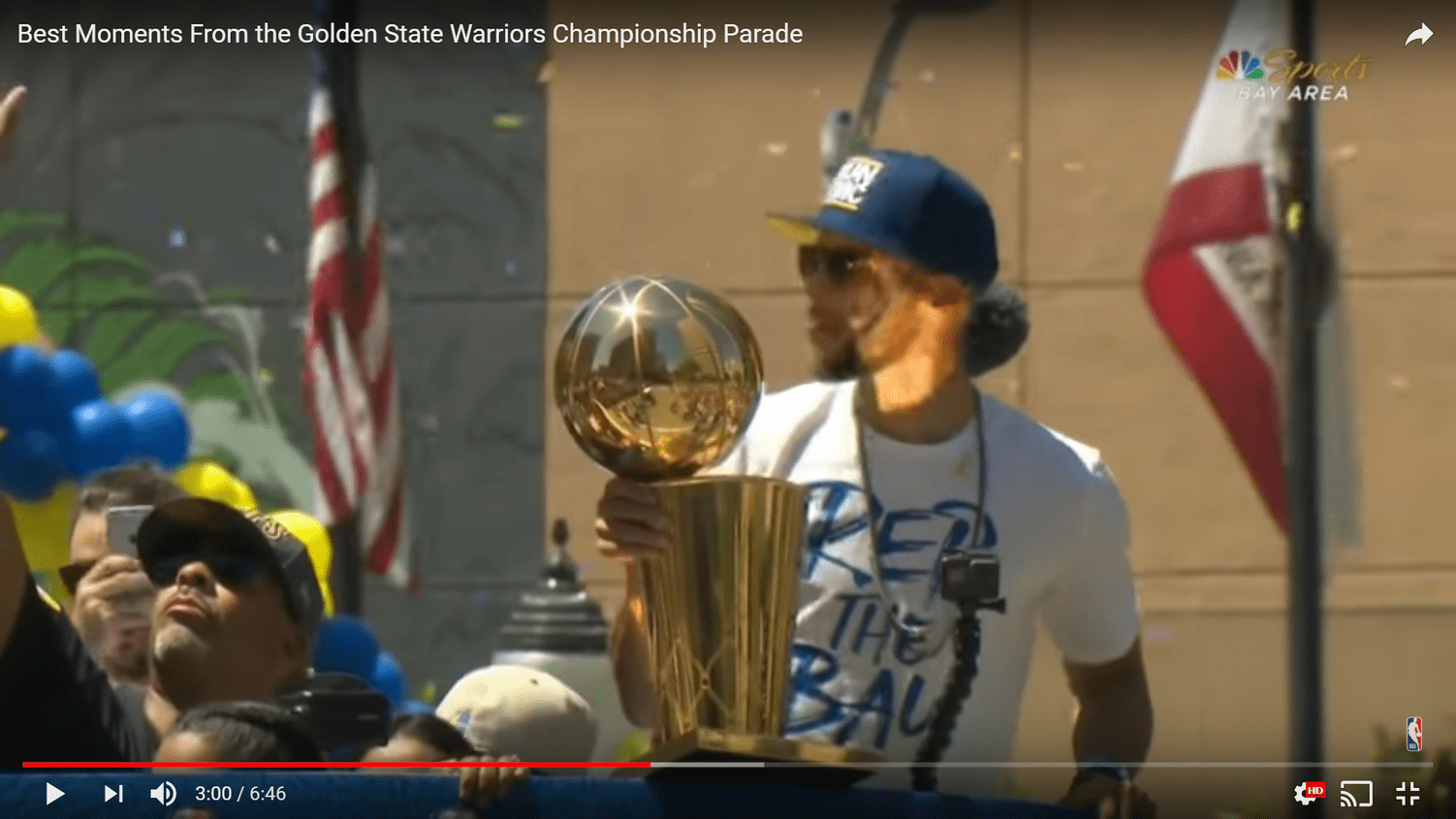 Le best of de la parade des Warriors