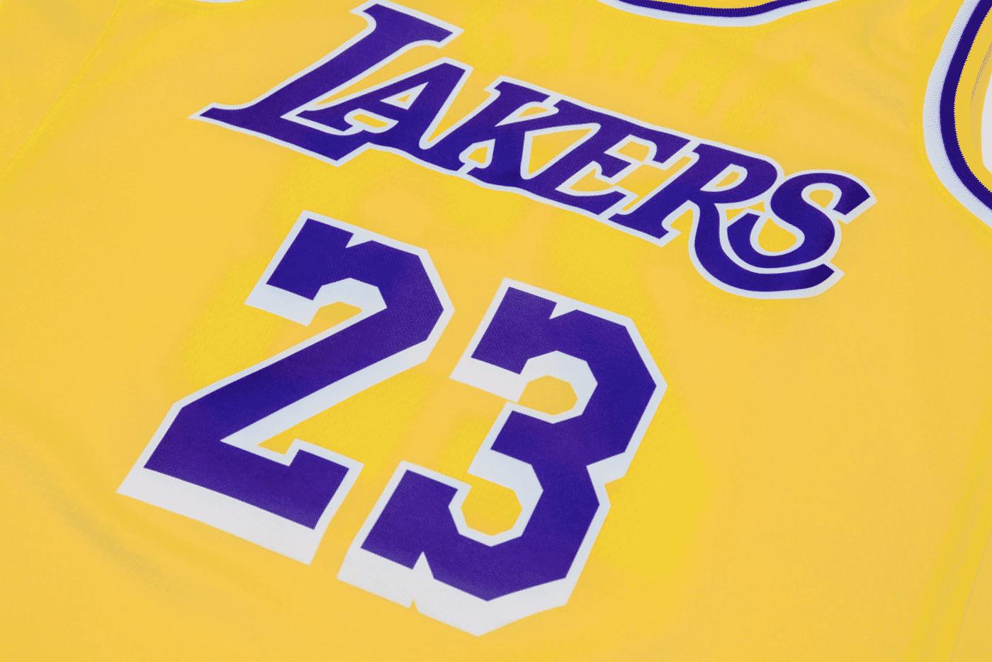 Le jersey de LeBron aux Lakers fuite encore, hommage au Showtime confirmé