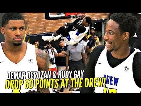 DeRozan et Gay reforment leur duo pour tout arracher en Drew League