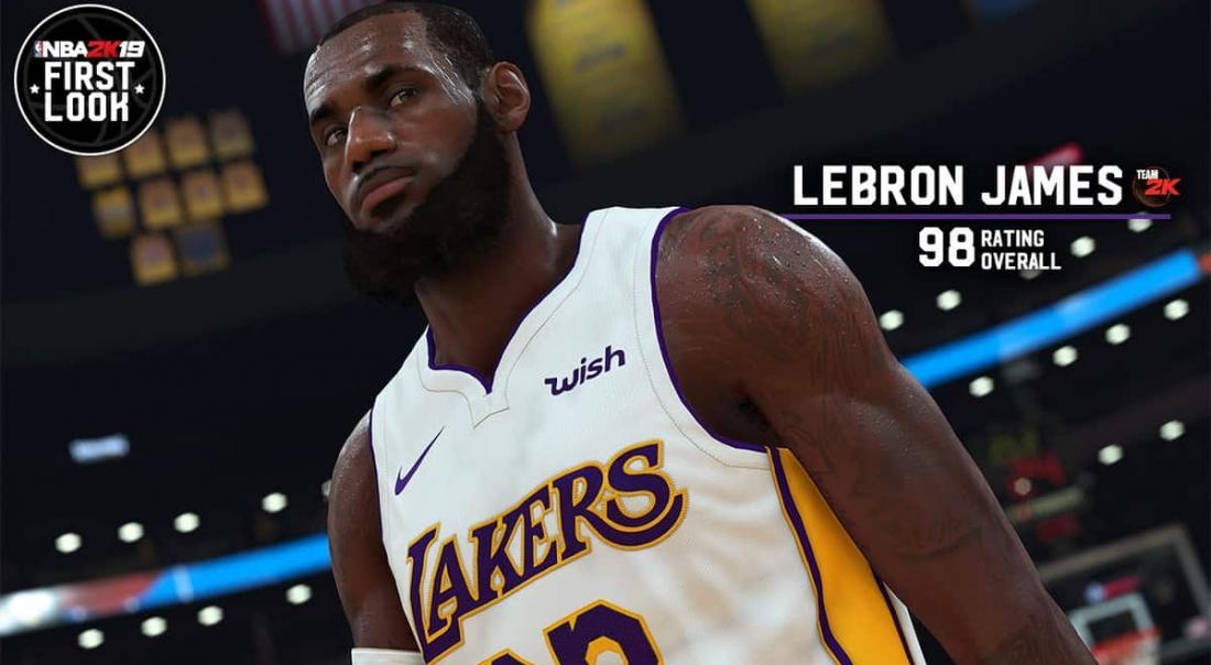 Joueurs boostés ou sous-cotés, voici les notes de NBA 2K19