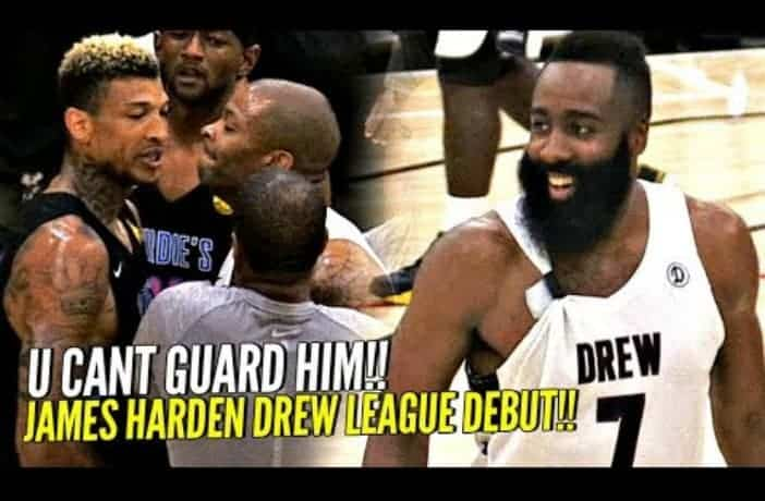 James Harden enchaîne les highlights à la Drew League