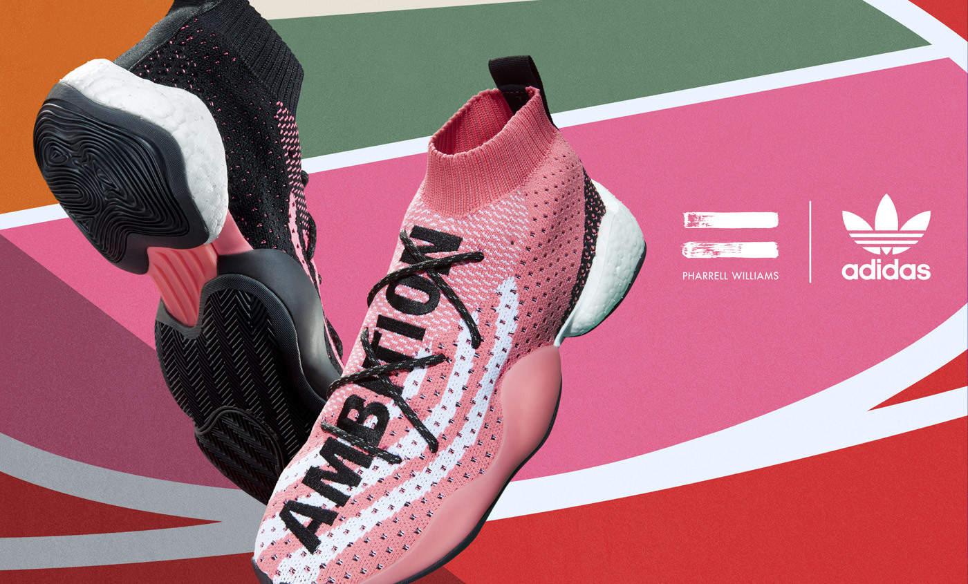 Pharrell Williams dévoile son nouveau modèle pour adidas