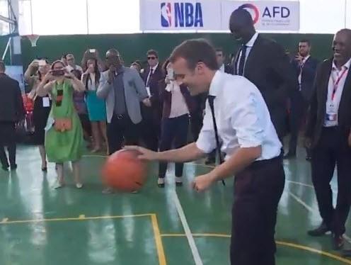 Emmanuel Macron à 1/5 sur la ligne des lancers…