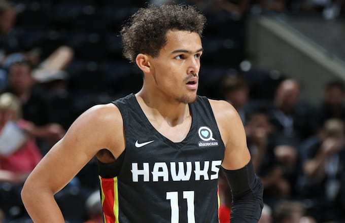 Vidéo : Trae Young en mode Stephen Curry