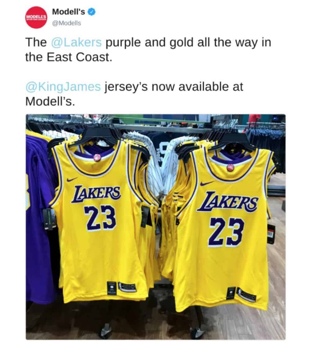 Maillot Los Angeles Lakers jersey LeBron James