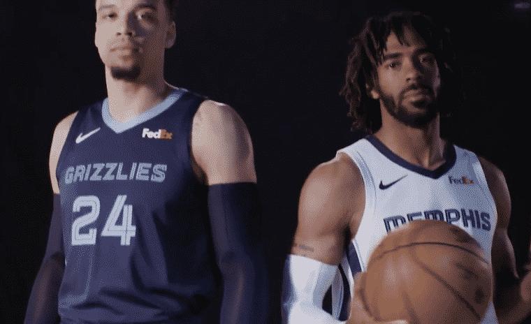 Les Memphis Grizzlies dévoilent leurs nouveaux maillots
