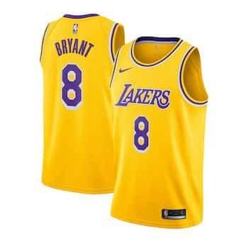 Les Lakers sortent un maillot pour Kobe Bryant