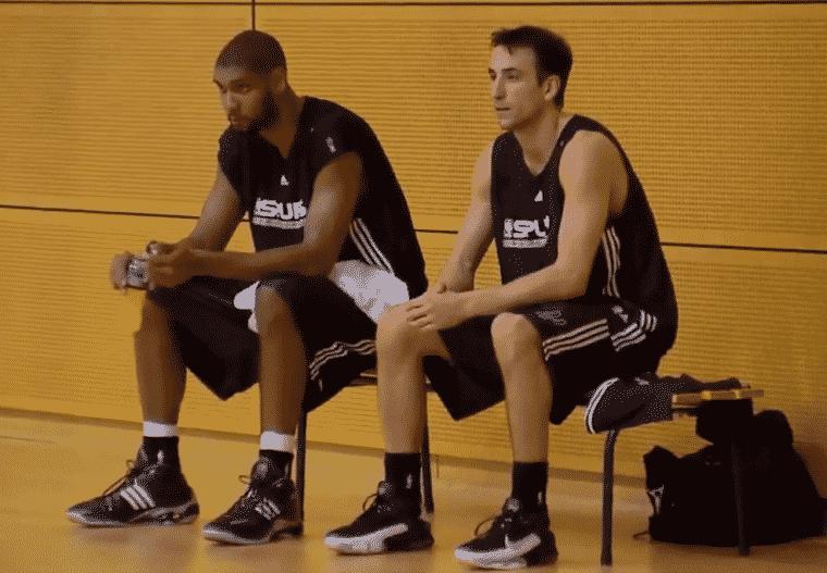 Pop, Duncan et TP parlent de leur rencontre avec Ginobili