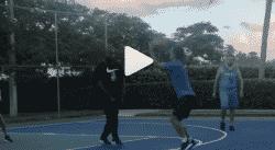 Antoine Griezmann joue les snipers à 3 points