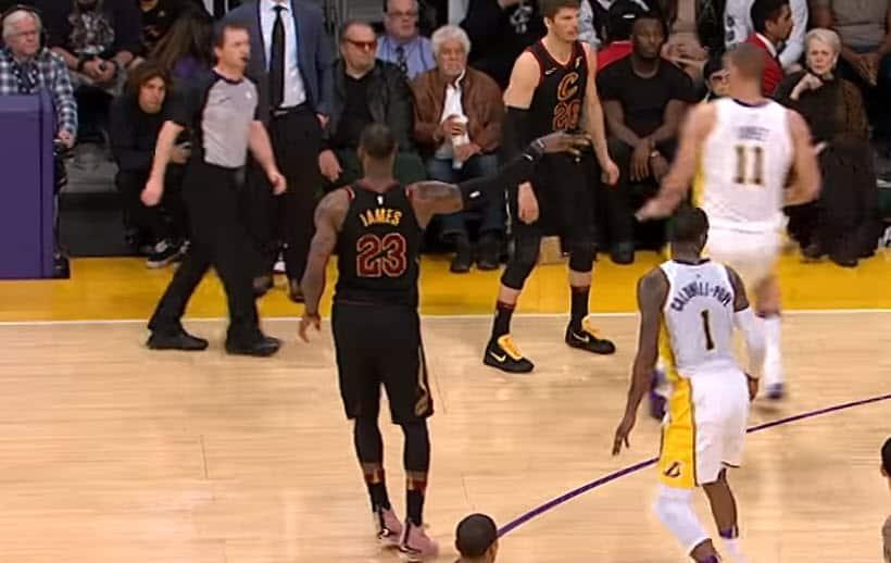 Une passe caviar par équipe NBA