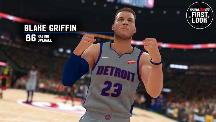 Blake Griffin vexé par sa note sur NBA 2K19