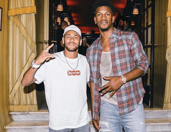 Jimmy Butler, groupie de Neymar et du PSG