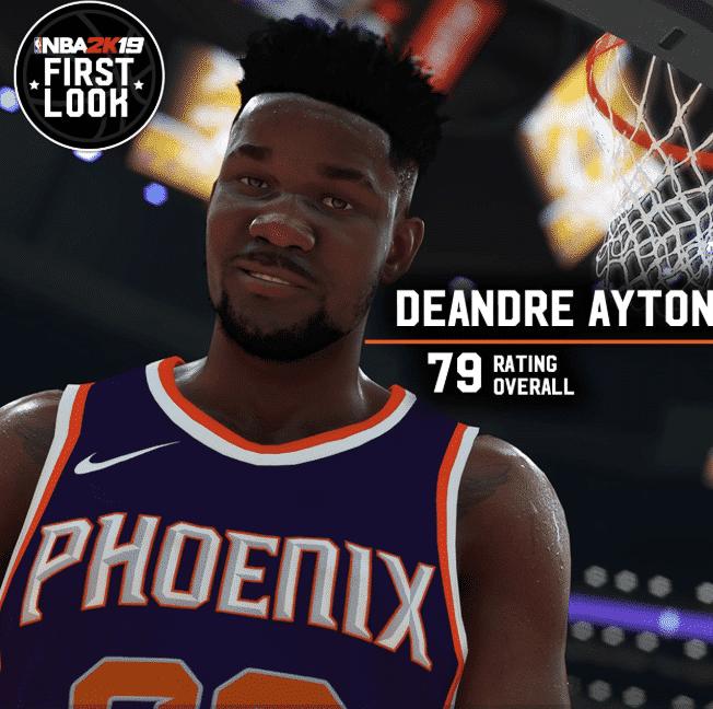Deandre Ayton NBA 2K19