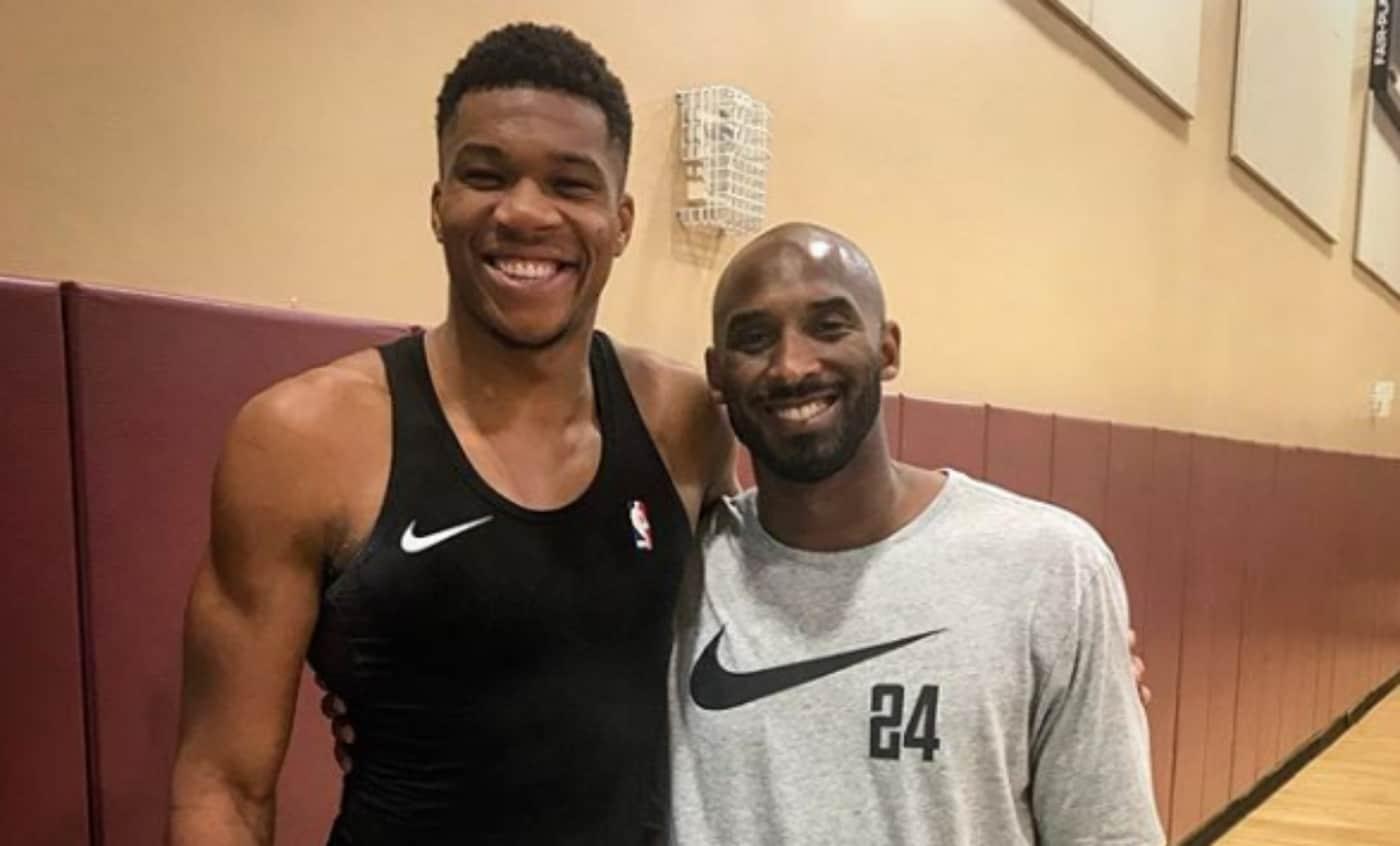 Giannis Antetokounmpo a enfin bossé avec Kobe