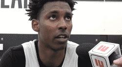 Le Français Jaylen Hoard a mis ses premiers points en NBA