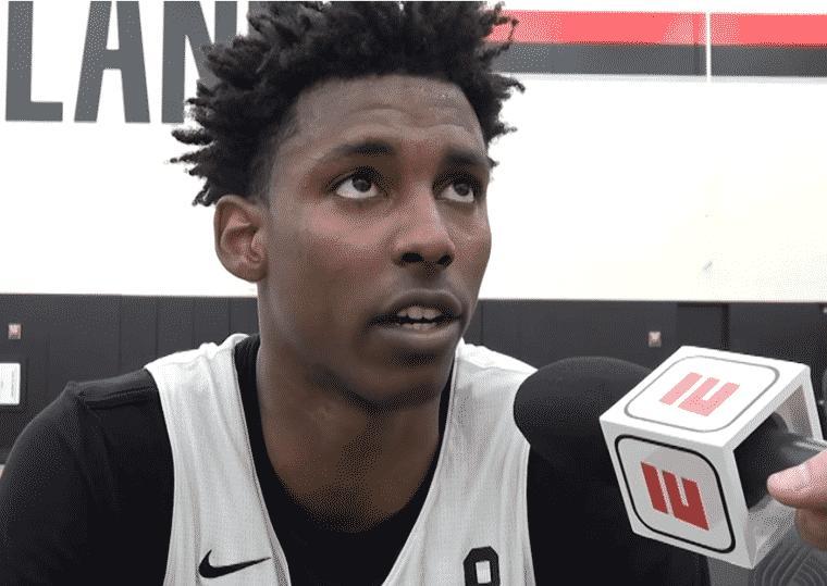 Le Français Jaylen Hoard tape déjà dans l'oeil de la NBA