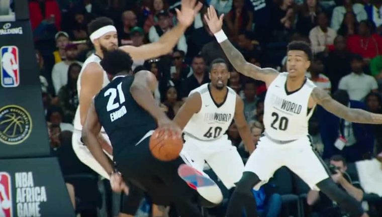 Africa Game : Team World gagne malgré le show Embiid