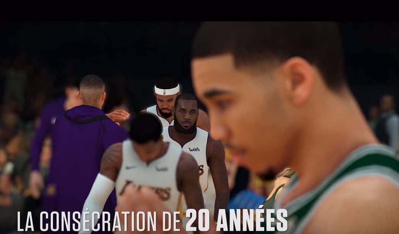 Le premier trailer de NBA 2K19 avec des actions de jeu est sorti !