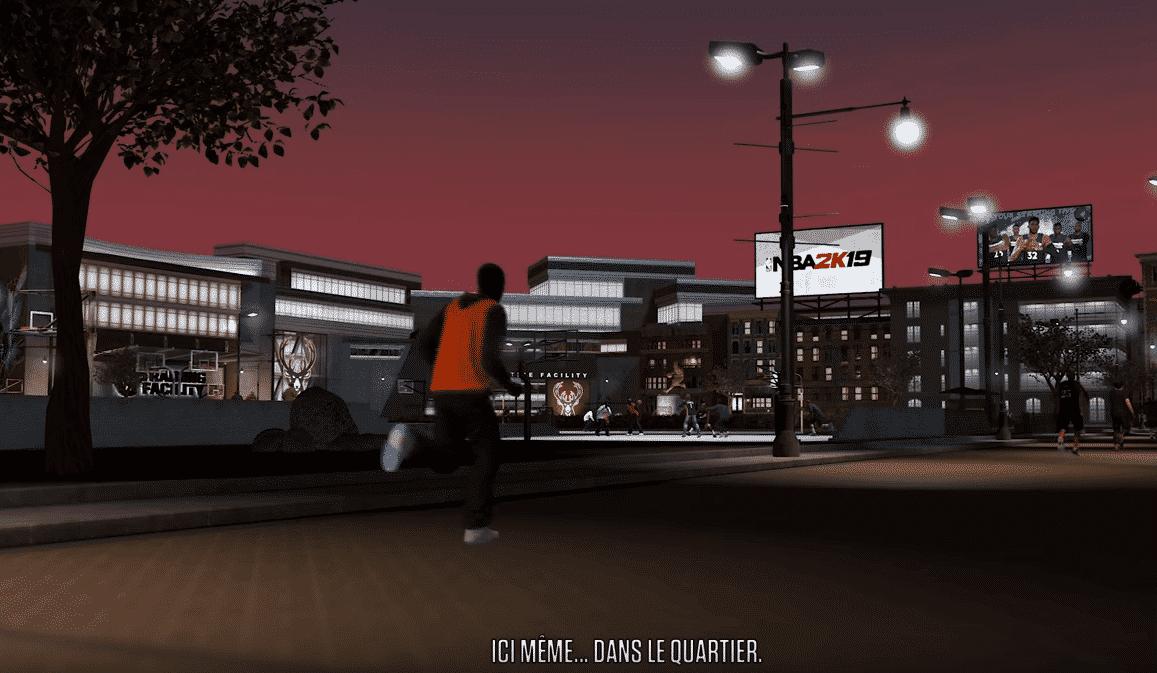 NBA 2K19, le trailer du nouveau Neighborhood !