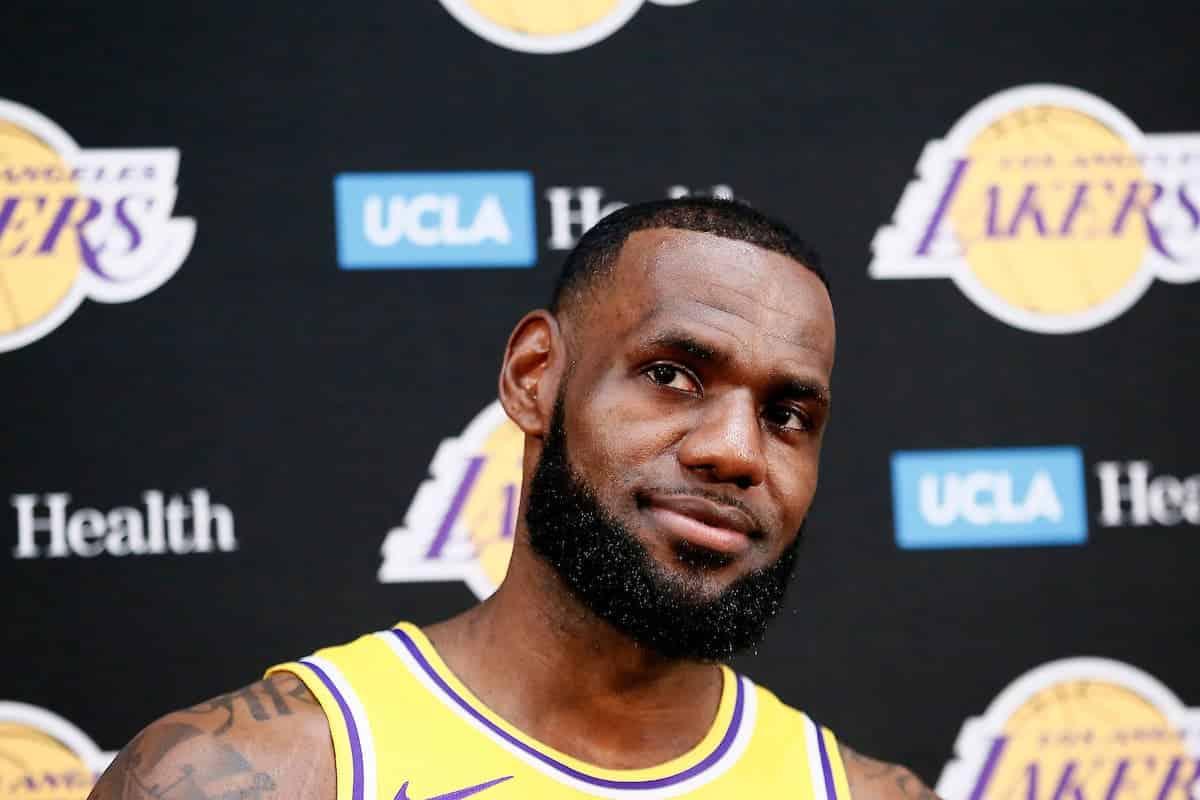 LeBron «adore» l'état d'esprit des Lakers