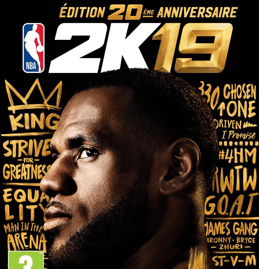NBA 2K19 : L'édition collector avec LeBron est sortie !