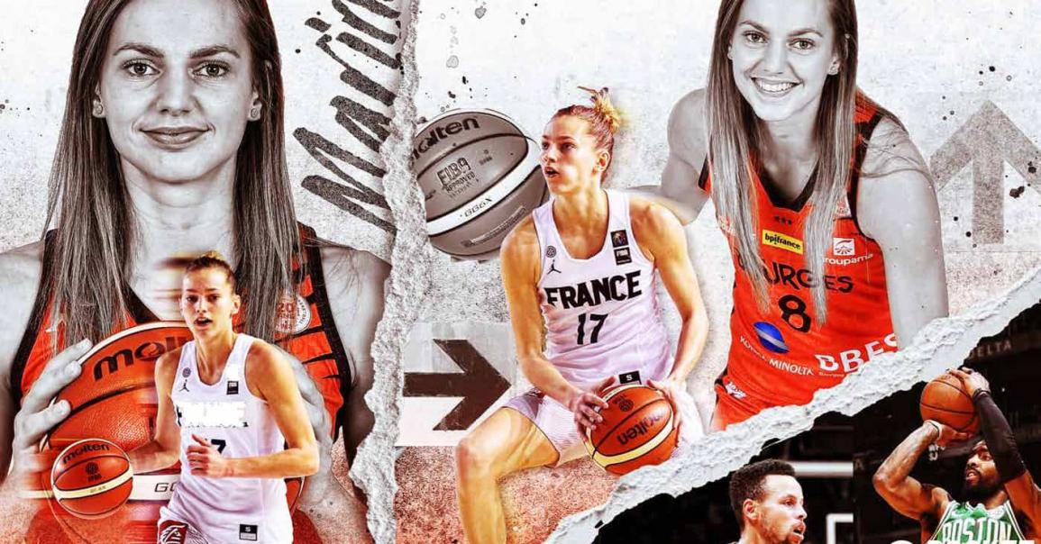 Marine Johannès : une joueuse à l'ADN NBA