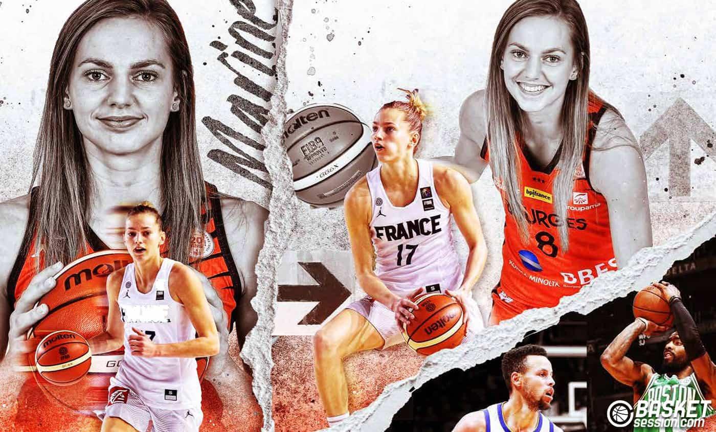 55e20acf6cce1 Marine Johannès : une joueuse à l'ADN résolument NBA
