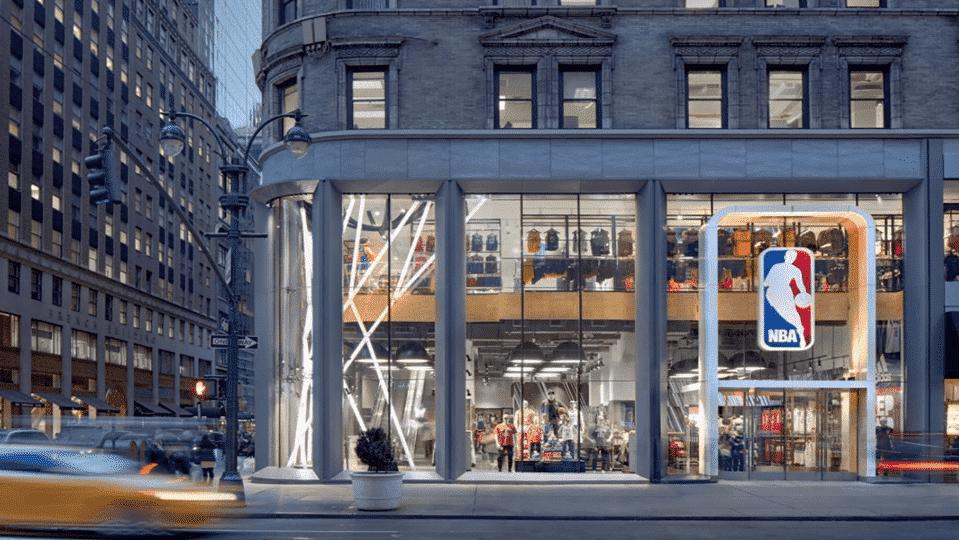 La NBA va ouvrir son premier magasin en Europe
