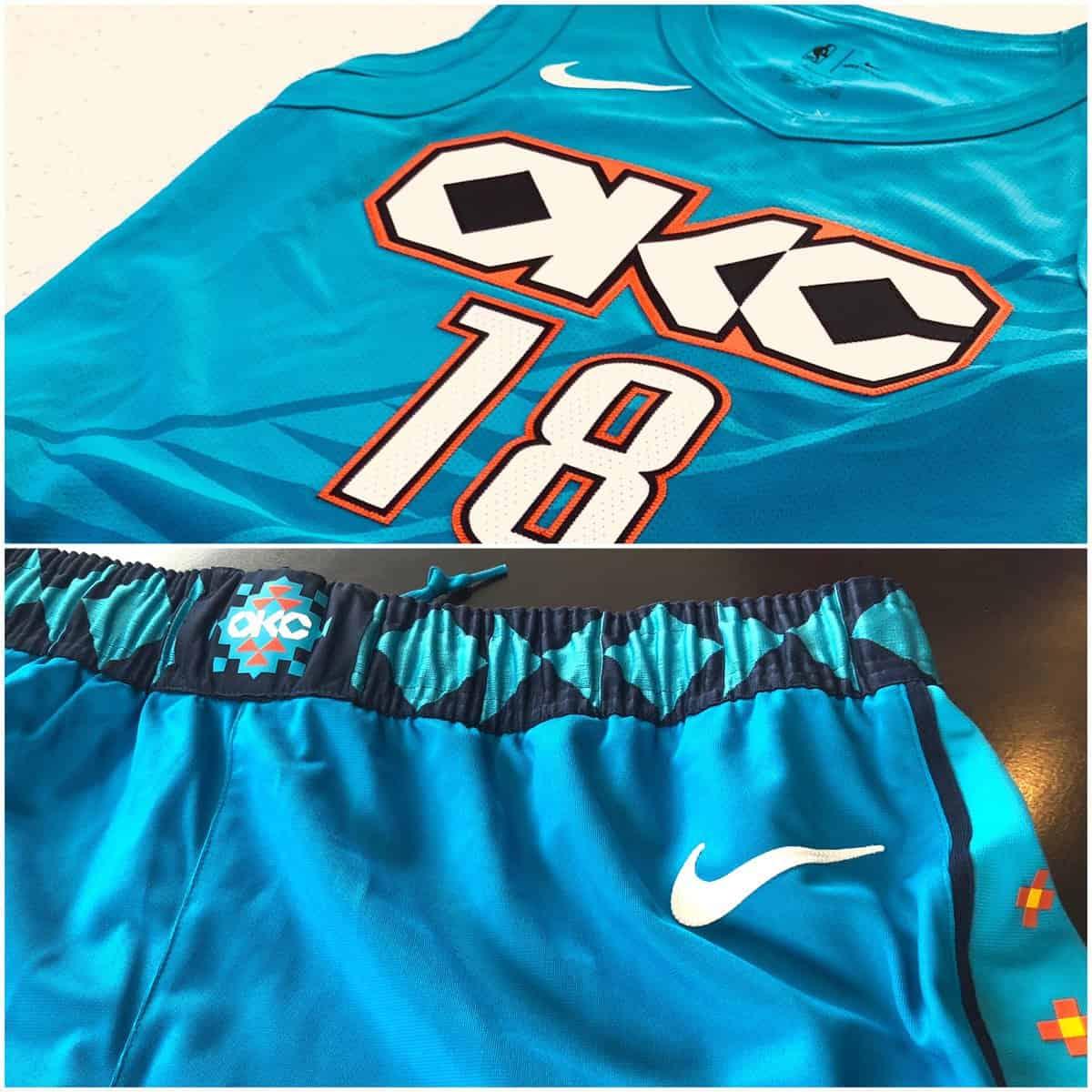 buy popular 5d53b 31322 Oklahoma City Thunder : Un nouveau maillot a leaké