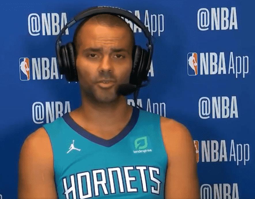 Tony Parker parle de son rôle aux Charlotte Hornets