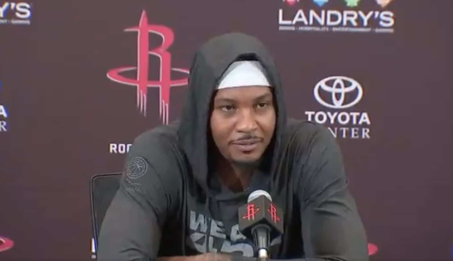 L'avenir de Melo aux Rockets est déjà incertain