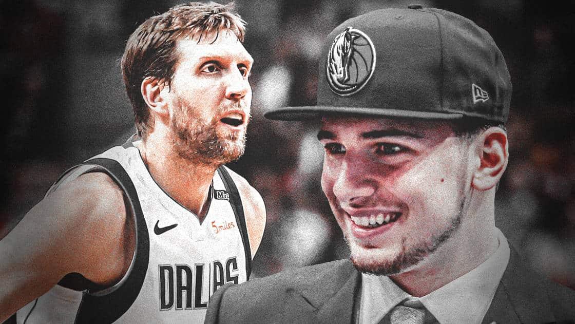 Quand Dirk Nowitzki se moque de Luka Doncic