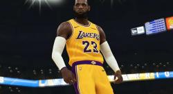 LeBron s'entraîne avec les Lakers… sur 2K !